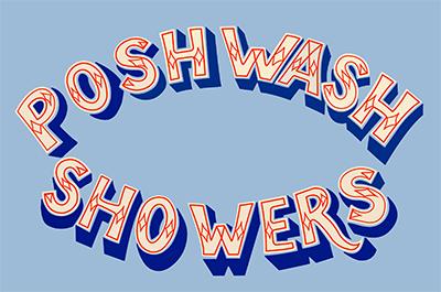 Posh Wash Showers logo